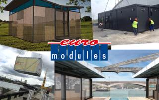 Photos et logo Euro Modules pour voeux