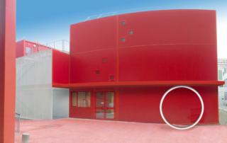 Atrium du campus de Jussieu