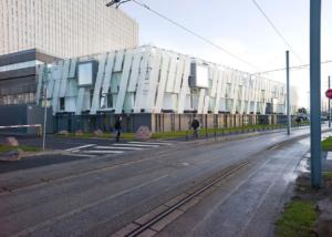 solution modulaire pour les vestiaires du CHU de Caen