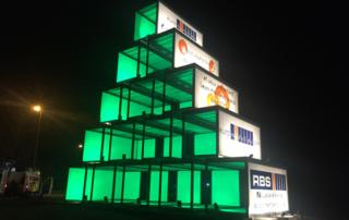 Empilement de modules RBS