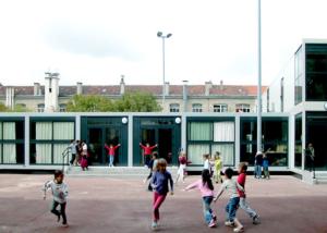 école primaire en modules de type RBS