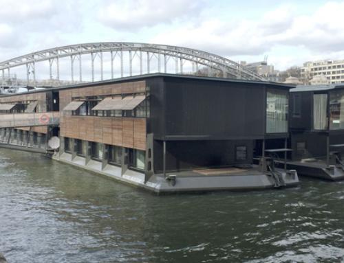 Hôtel flottant à Paris