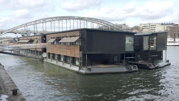 Hôtel flottant OFF Paris Seine
