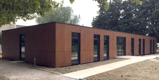 Bureaux pour le campus de l'école hôtelière d'Avignon