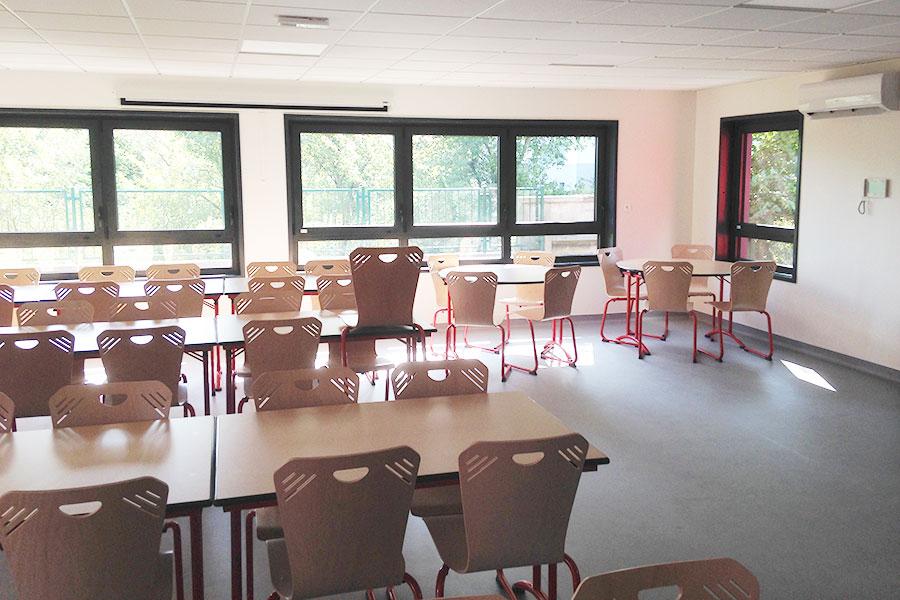 Salle commune d'un périscolaire à Toul