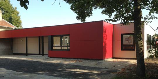 Périscolaire réalisé en construction modulaire à Toul